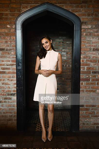 Actress Gal Gadot attends the Gucci Bamboo Fragrance launch on July 14 2015 in New York City