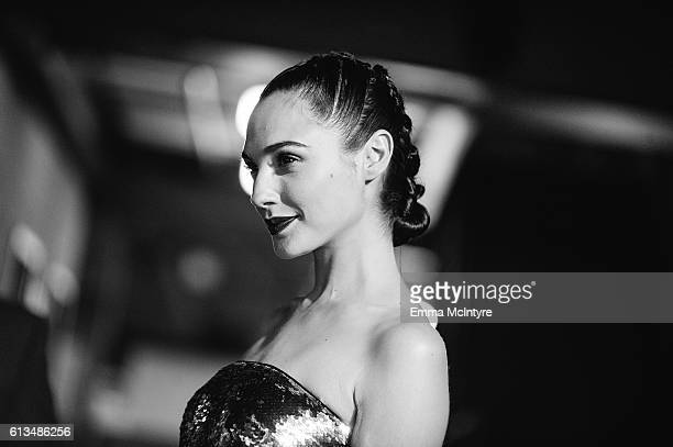 Actress Gal Gadot attends the premiere of 20th Century Fox's 'Keeping up with the Joneses' at Fox Studios on October 8 2016 in Los Angeles California