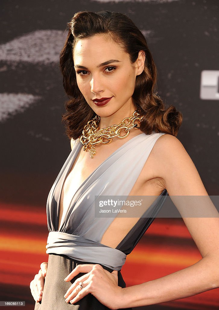 Actress Gal Gadot attends the premiere of 'Fast & Furious 6' at Universal CityWalk on May 21, 2013 in Universal City, California.