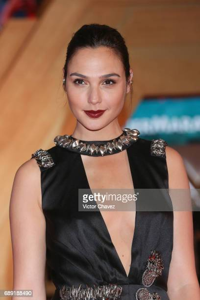 Actress Gal Gadot attends the 'Wonder Woman' Mexico City premiere at Parque Toreo on May 27 2017 in Mexico City Mexico