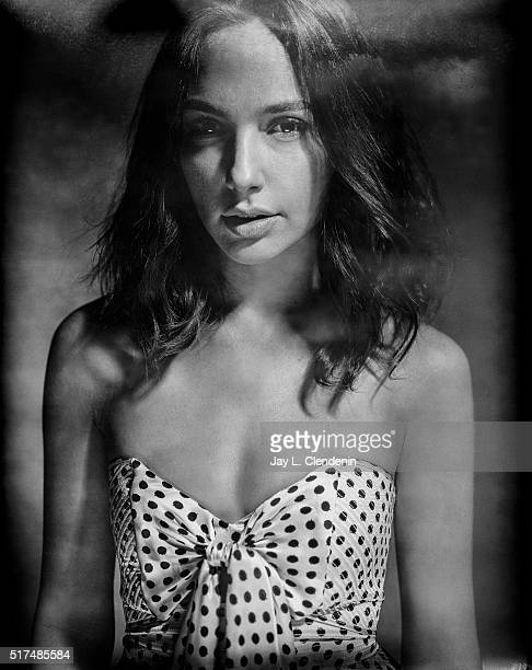 Actress Gal Gadot is photographed on film for Los Angeles Times on March 18 2016 in Los Angeles California PUBLISHED IMAGE CREDIT MUST READ Jay L...