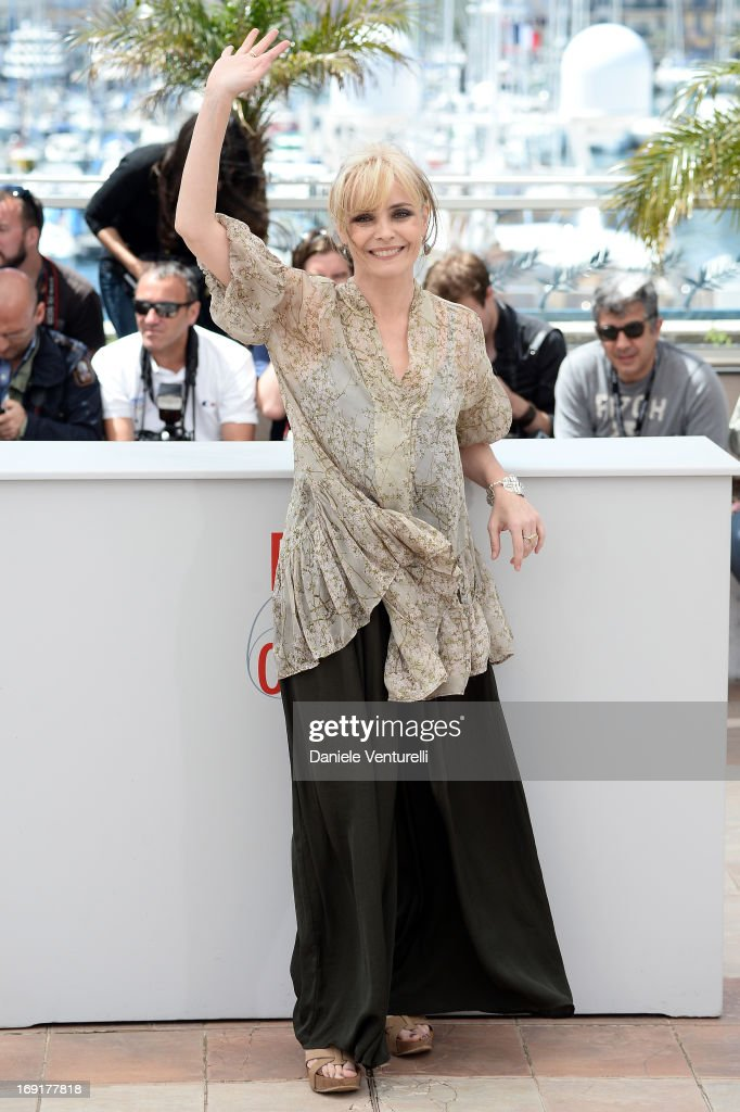Actress Galatea Ranzi attends the photocall for 'La Grande Bellezza' (The Great Beauty) during the 66th Annual Cannes Film Festival at Palais des Festivals on May 21, 2013 in Cannes, France.
