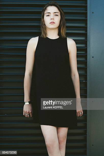 Actress Garance Marillier poses during a portrait session on May 15 2016 in Cannes France