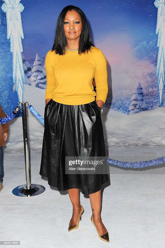 Actress Garcelle Bauvais arrives at the Los Angeles premiere of Disney's 'Frozen' at the El Capitan Theatre on November 19, 2013 in Hollywood, California.