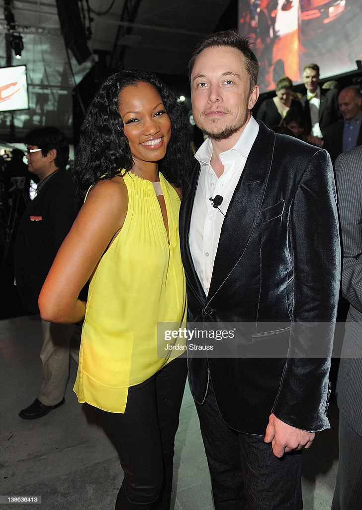 Actress <a gi-track='captionPersonalityLinkClicked' href=/galleries/search?phrase=Garcelle+Beauvais&family=editorial&specificpeople=203112 ng-click='$event.stopPropagation()'>Garcelle Beauvais</a> and Co-Founder and Head of Product Design at Tesla Motors <a gi-track='captionPersonalityLinkClicked' href=/galleries/search?phrase=Elon+Musk&family=editorial&specificpeople=4448862 ng-click='$event.stopPropagation()'>Elon Musk</a> attend Tesla Worldwide Debut of Model X on February 9, 2012 in Los Angeles, California.