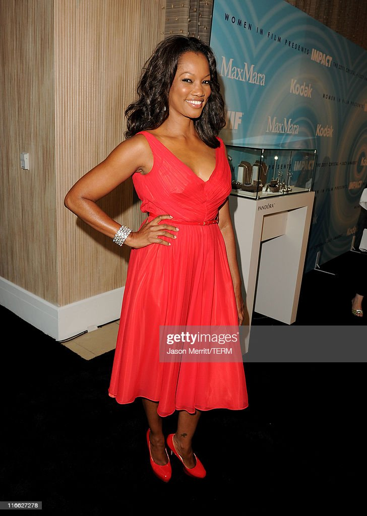 Actress Garcelle Beauvais arrives at the 2011 Women In Film Crystal + Lucy Awards with presenting sponsor PANDORA jewelry at the Beverly Hilton Hotel on June 16, 2011 in Beverly Hills, California.