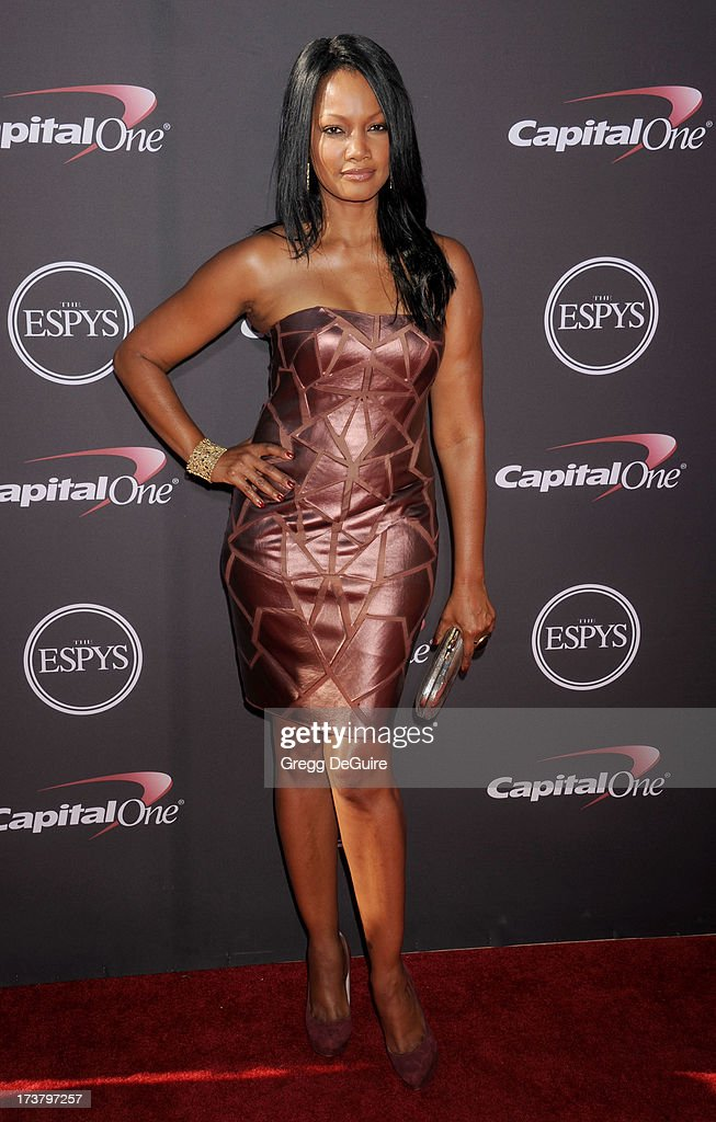 Actress Garcelle Beauvais arrives at the 2013 ESPY Awards at Nokia Theatre L.A. Live on July 17, 2013 in Los Angeles, California.