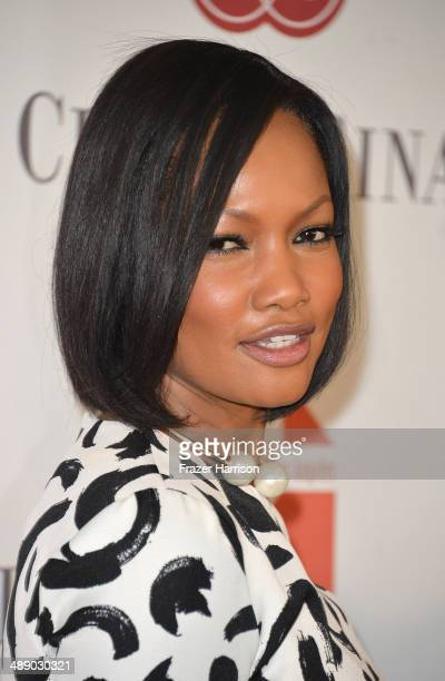 Actress Garcelle Beauvais arrives at The Helping Hand of Los Angeles Mother's Day Luncheon at The Beverly Hilton Hotel on May 9 2014 in Beverly Hills...