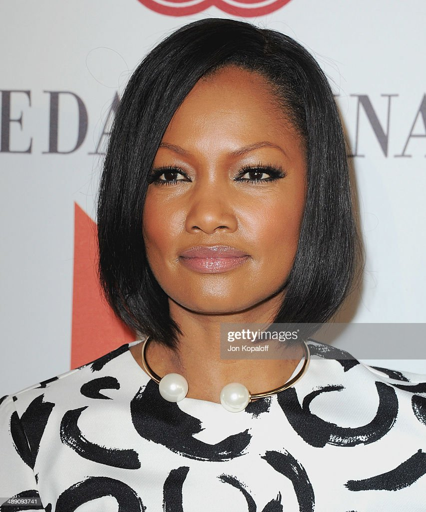 Actress Garcelle Beauvais arrives at The Helping Hand Of Los Angeles Mother's Day Luncheon at The Beverly Hilton Hotel on May 9, 2014 in Beverly Hills, California.