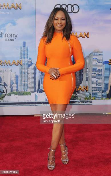 Actress Garcelle Beauvais arrives at the Los Angeles Premiere 'SpiderMan Homecoming' at TCL Chinese Theatre on June 28 2017 in Hollywood California