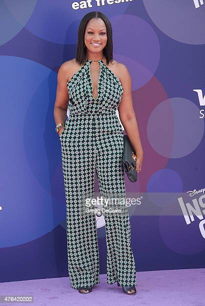 Actress Garcelle Beauvais arrives at the Los Angeles premiere of Disney/Pixar's 'Inside Out' at the El Capitan Theatre on June 8 2015 in Hollywood...
