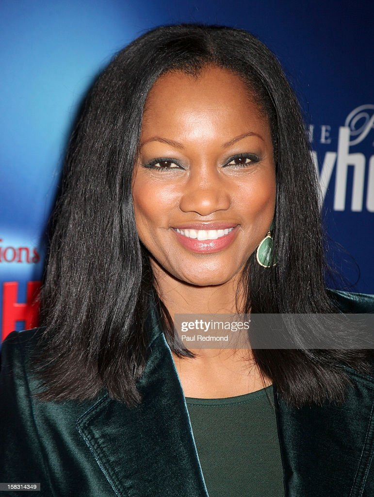 Actress <a gi-track='captionPersonalityLinkClicked' href=/galleries/search?phrase=Garcelle+Beauvais&family=editorial&specificpeople=203112 ng-click='$event.stopPropagation()'>Garcelle Beauvais</a> arrives at the Pasadena Playhouse and Lythgoe Family Production's 'A Snow White Christmas' at Pasadena Playhouse on December 12, 2012 in Pasadena, California.