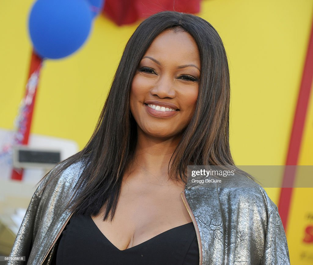Actress Garcelle Beauvais arrives at the premiere of Sony's 'Sausage Party' at Regency Village Theatre on August 9 2016 in Westwood California