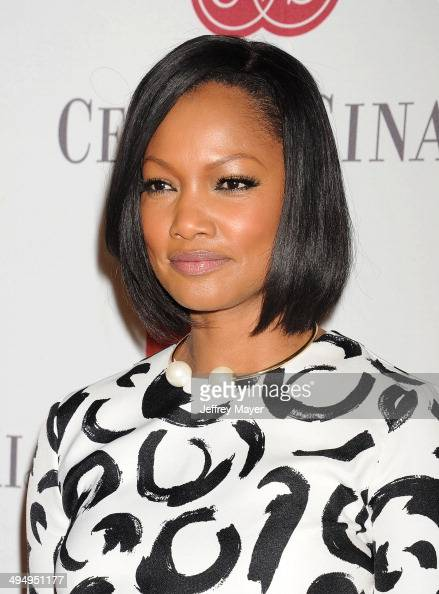 Actress Garcelle Beauvais arrives at the The Helping Hand Of Los Angeles Mother's Day Luncheon at The Beverly Hilton Hotel on May 9 2014 in Beverly...