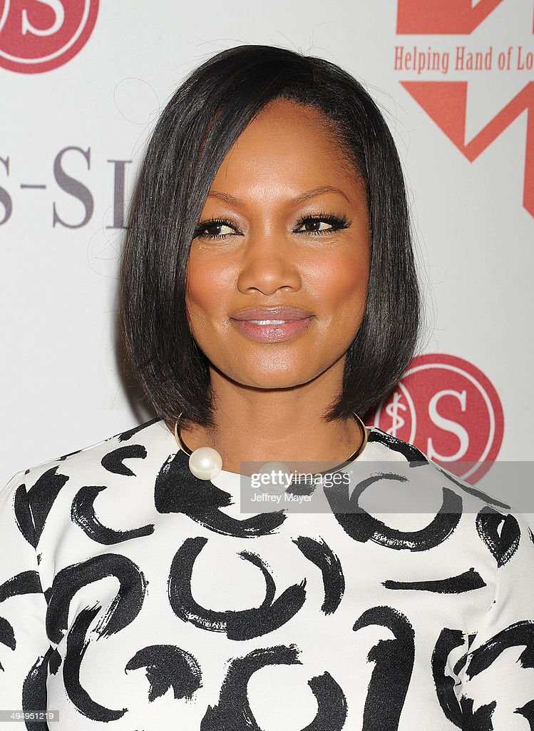 Actress <a gi-track='captionPersonalityLinkClicked' href=/galleries/search?phrase=Garcelle+Beauvais&family=editorial&specificpeople=203112 ng-click='$event.stopPropagation()'>Garcelle Beauvais</a> arrives at the The Helping Hand Of Los Angeles Mother's Day Luncheon at The Beverly Hilton Hotel on May 9, 2014 in Beverly Hills, California.