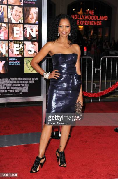 Actress Garcelle Beauvais arrives at the 'Valentine's Day' Los Angeles premiere held at Grauman's Chinese Theatre on February 8 2010 in Hollywood...