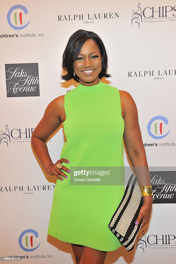 Actress <a gi-track='captionPersonalityLinkClicked' href=/galleries/search?phrase=Garcelle+Beauvais&family=editorial&specificpeople=203112 ng-click='$event.stopPropagation()'>Garcelle Beauvais</a> attends C.H.I.P.S Colleagues Helpers in Philanthropic Service Children's Institute annual charity luncheon at The Four Seasons Hotel on May 8, 2014 in Beverly Hills, California.
