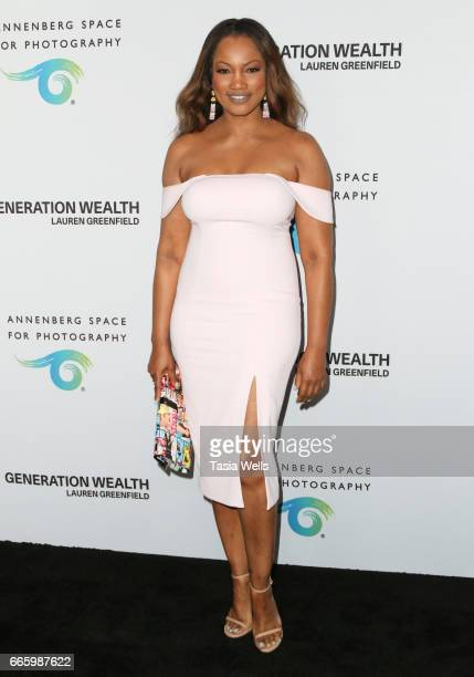 Actress Garcelle Beauvais attends opening night of 'Generation Wealth' by Lauren Greenfield at Annenberg Space For Photography on April 6 2017 in...