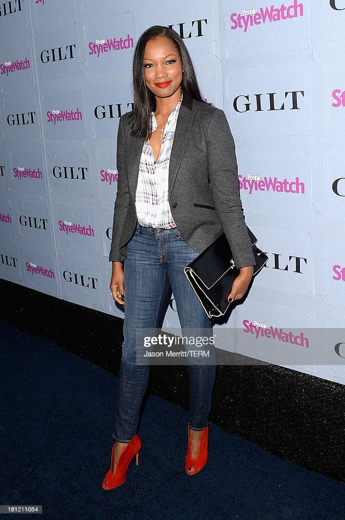 Actress <a gi-track='captionPersonalityLinkClicked' href=/galleries/search?phrase=Garcelle+Beauvais&family=editorial&specificpeople=203112 ng-click='$event.stopPropagation()'>Garcelle Beauvais</a> attends People StyleWatch Denim Awards presented by GILT at Palihouse on September 19, 2013 in West Hollywood, California.