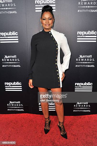 Actress Garcelle Beauvais attends Republic Records private PostVMA celebration at Ysabel on August 30 2015 in West Hollywood California