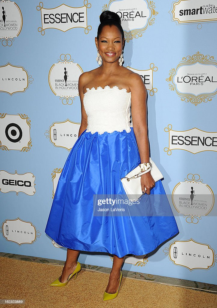 Actress <a gi-track='captionPersonalityLinkClicked' href=/galleries/search?phrase=Garcelle+Beauvais&family=editorial&specificpeople=203112 ng-click='$event.stopPropagation()'>Garcelle Beauvais</a> attends the 6th annual ESSENCE Black Women In Hollywood awards luncheon at Beverly Hills Hotel on February 21, 2013 in Beverly Hills, California.