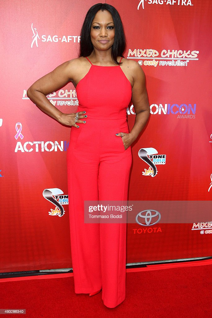 Actress Garcelle Beauvais attends the 8th Annual Action Icon Awards held at the Sheraton Universal on October 18 2015 in Universal City California