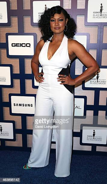 Actress Garcelle Beauvais attends the 8th Annual ESSENCE Black Women In Hollywood Luncheon at the Beverly Wilshire Four Seasons Hotel on February 19...