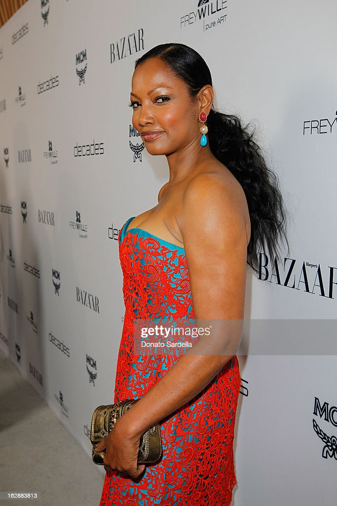 Actress Garcelle Beauvais attends the Dukes Of Melrose launch hosted by Decades, Harper's BAZAAR, and MCM on February 28, 2013 in Los Angeles, California.