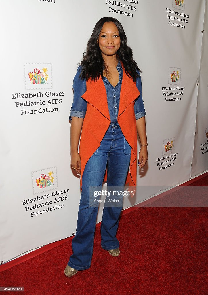 Actress Garcelle Beauvais attends the Elizabeth Glaser Pediatric AIDS Foundation's 26th Annual a Time for Heroes Family Festival at Smashbox Studios...