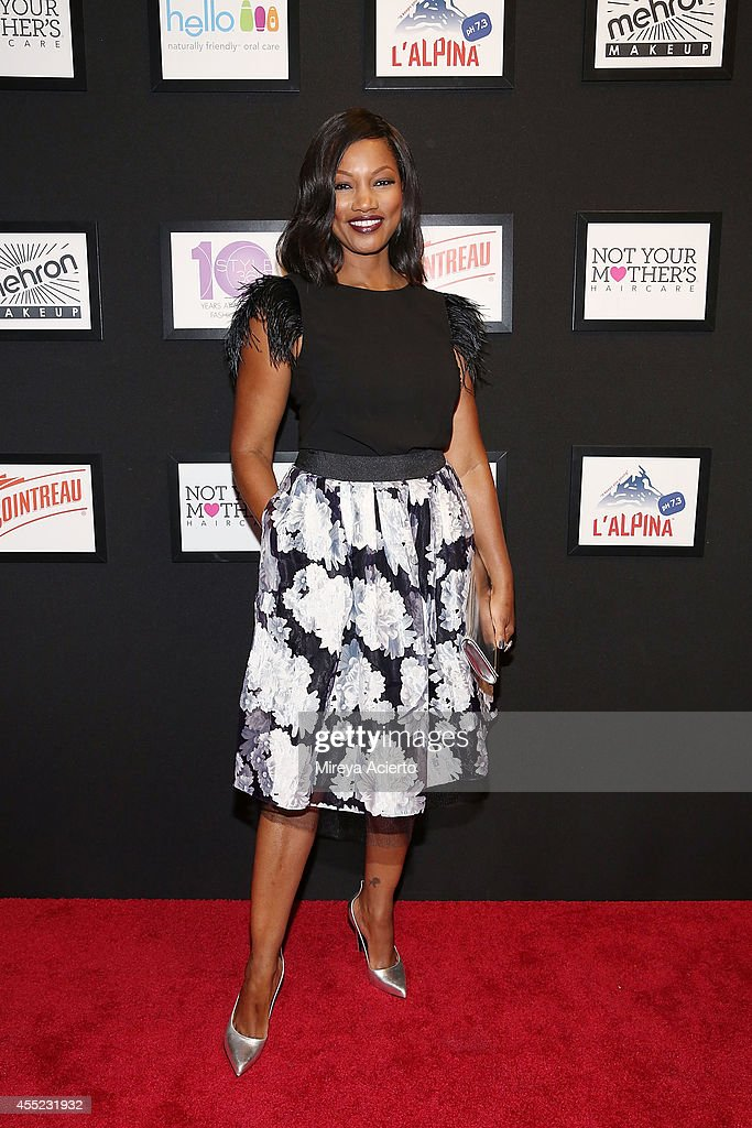 Actress Garcelle Beauvais attends the Elle Runway Collection By KOHL's during Style360 Spring 2015 at Metropolitan West on September 10 2014 in New...