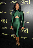 Actress Garcelle Beauvais attends the Hollywood Foreign Press Association and InStyle's celebration of the 2015 Golden Globe award season at Fig...
