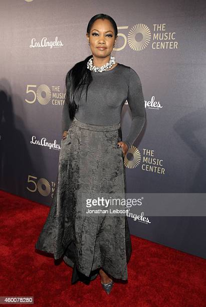 Actress Garcelle Beauvais attends The Music Center's 50th Anniversary Spectacular at The Music Center on December 6 2014 in Los Angeles California