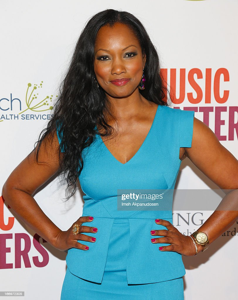 Actress Garcelle Beauvais attends the 'Music Matters' 17th Annual Erasing The Stigma Awards Luncheon Presented By Didi Hirsch Mental Health Services at The Beverly Hilton Hotel on April 18, 2013 in Beverly Hills, California.