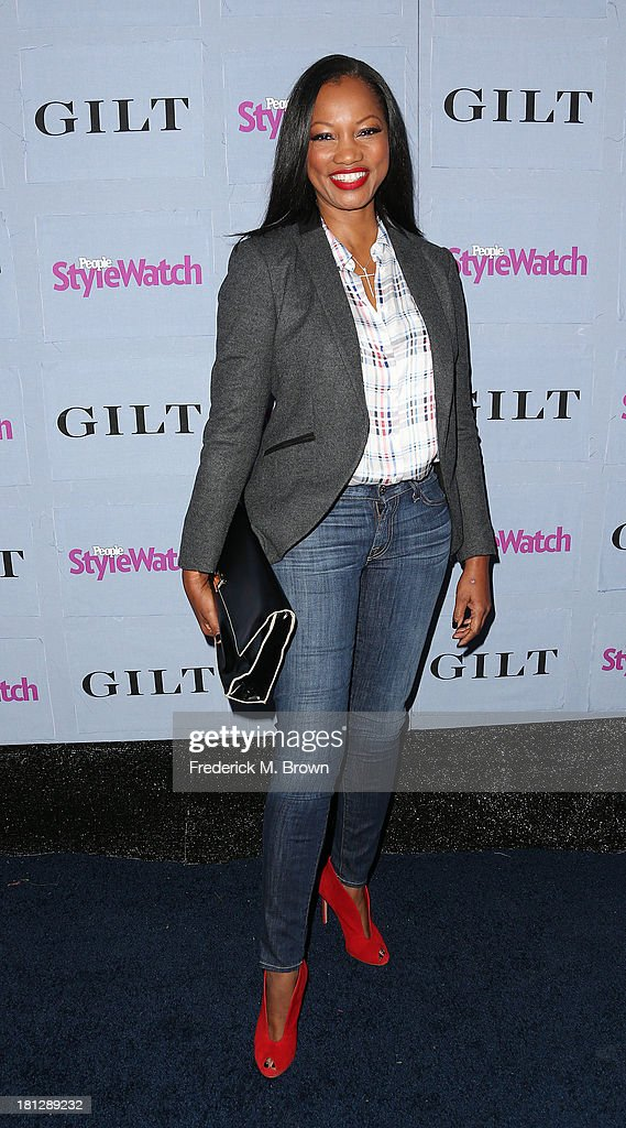 Actress <a gi-track='captionPersonalityLinkClicked' href=/galleries/search?phrase=Garcelle+Beauvais&family=editorial&specificpeople=203112 ng-click='$event.stopPropagation()'>Garcelle Beauvais</a> attends the People StyleWatch Denim Awards by GILT at the Palihouse on September 19, 2013 in West Hollywood, California.
