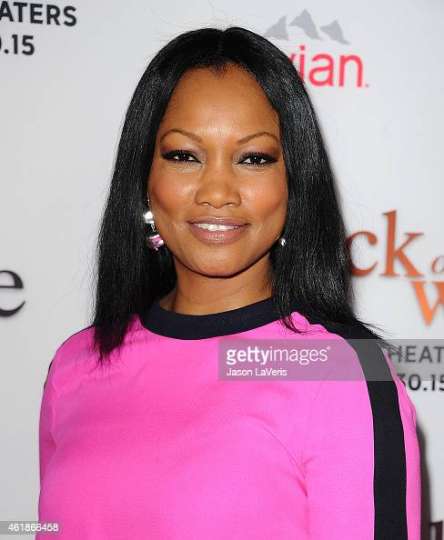 Actress Garcelle Beauvais attends the premiere of 'Black or White' at Regal Cinemas LA Live on January 20 2015 in Los Angeles California