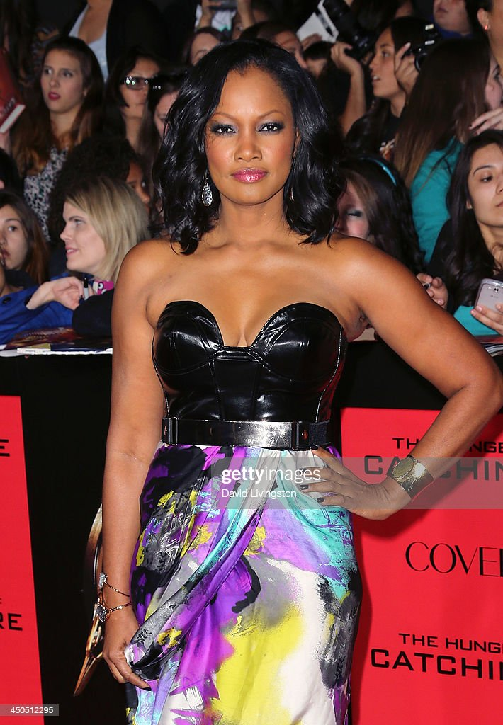 Actress Garcelle Beauvais attends the premiere of Lionsgate's 'The Hunger Games: Catching Fire' at Nokia Theatre L.A. Live on November 18, 2013 in Los Angeles, California.