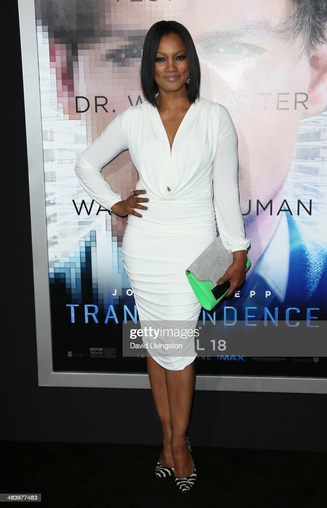 Actress <a gi-track='captionPersonalityLinkClicked' href=/galleries/search?phrase=Garcelle+Beauvais&family=editorial&specificpeople=203112 ng-click='$event.stopPropagation()'>Garcelle Beauvais</a> attends the premiere of Warner Bros. Pictures and Alcon Entertainment's 'Transcendence' at the Regency Village Theatre on April 10, 2014 in Westwood, California.