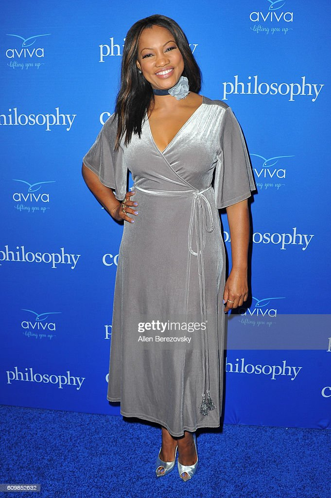 Actress Garcelle Beauvais attends the 'Welcome to the Age of Cool' event hosted by Philosophy and Ellen Pompeo on September 22, 2016 in West Hollywood, California.