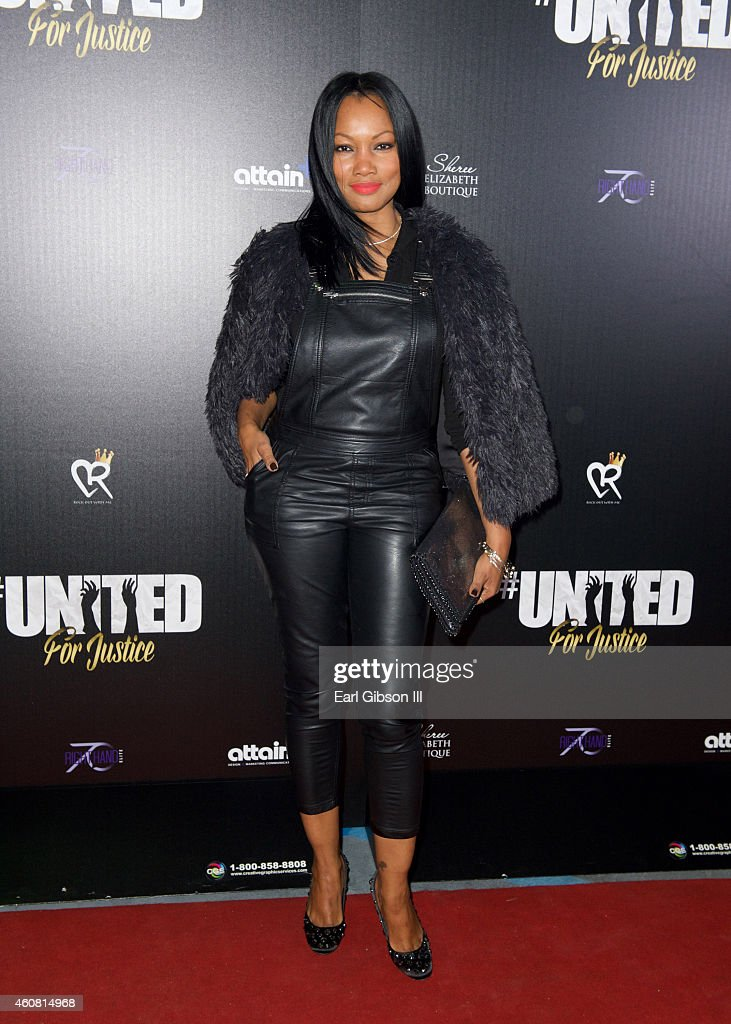 Actress Garcelle Beauvais attends 'United For Justice' at Hotel Angelino on December 23 2014 in Los Angeles California