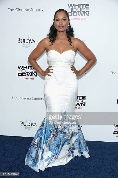 Actress Garcelle Beauvais attends 'White House Down' New York premiere at Ziegfeld Theater on June 25 2013 in New York City