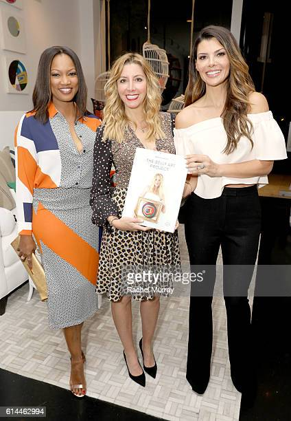 Actress Garcelle Beauvais Sara Blakley founder of Spanx and the Sara Blakely Foundation and Actress Ali Landry attend as Serena Lily and Sara Blakely...