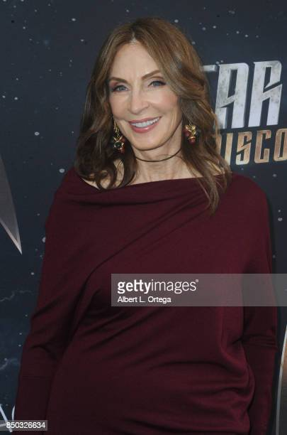 Actress Gates McFadden arrives for the Premiere Of CBS's 'Star Trek Discovery' held at The Cinerama Dome on September 19 2017 in Los Angeles...