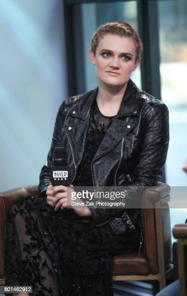 Actress Gayle Rankin attends Build Series to discuss her role in 'Glow' at Build Studio on June 26 2017 in New York City