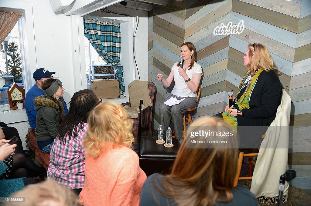 Geena Davis On Gender In the Media - 2014 Park City | Getty Images