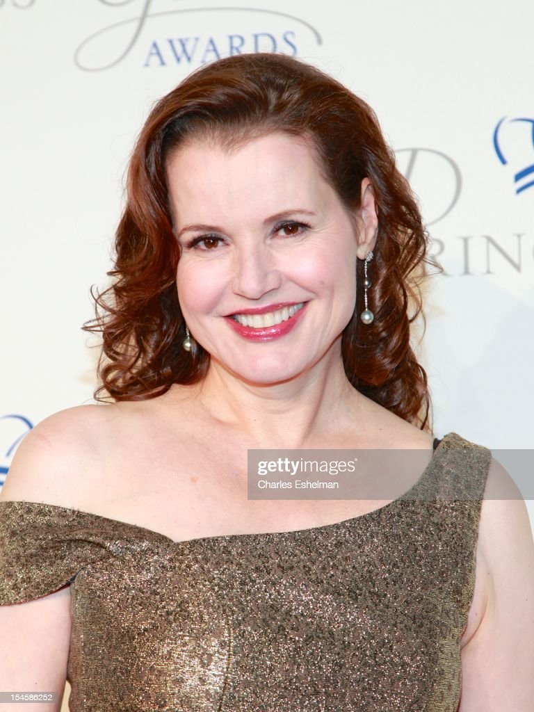 Actress <a gi-track='captionPersonalityLinkClicked' href=/galleries/search?phrase=Geena+Davis&family=editorial&specificpeople=209423 ng-click='$event.stopPropagation()'>Geena Davis</a> attends 30th Anniversary Princess Grace Awards Gala at Cipriani 42nd Street on October 22, 2012 in New York City.