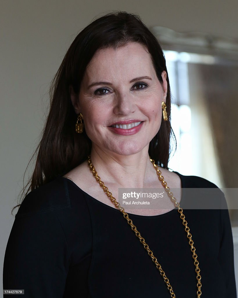 Actress <a gi-track='captionPersonalityLinkClicked' href=/galleries/search?phrase=Geena+Davis&family=editorial&specificpeople=209423 ng-click='$event.stopPropagation()'>Geena Davis</a> attends the 2013 New Executive Leaders Forum at the Terranea Resort on July 25, 2013 in Rancho Palos Verdes, California.