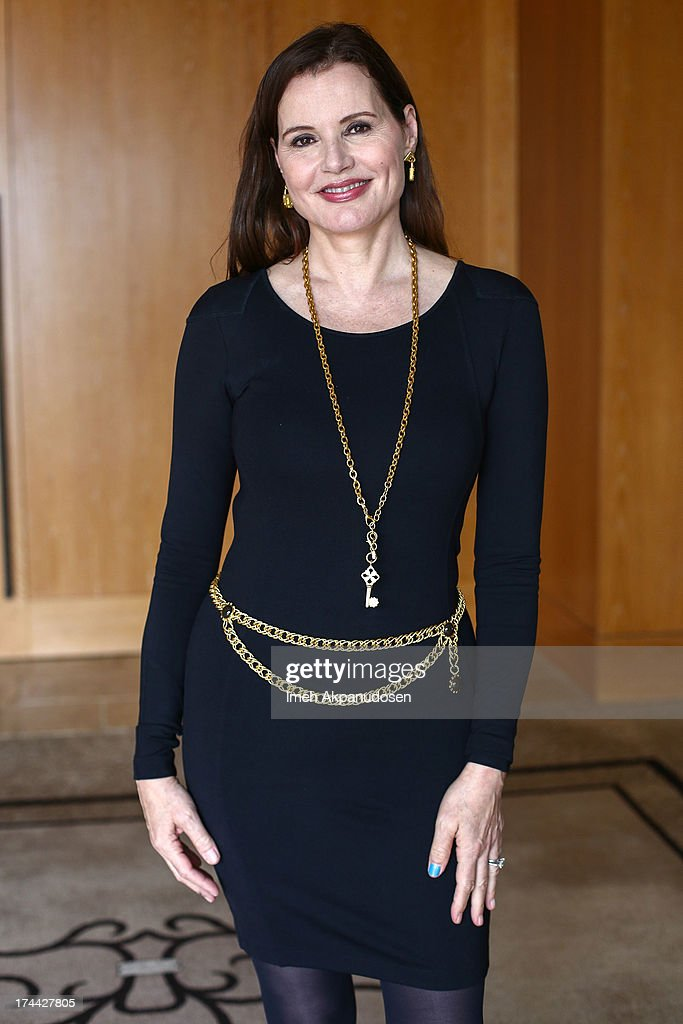 Actress Geena Davis attends the 2013 NEW Executive Leaders Forum at Terranea Resort on July 25, 2013 in Rancho Palos Verdes, California.