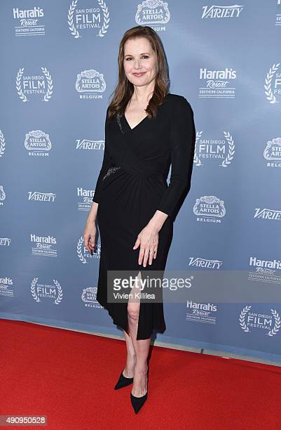 Actress Geena Davis attends the 2015 San Diego Film Festival on October 1 2015 in San Diego California