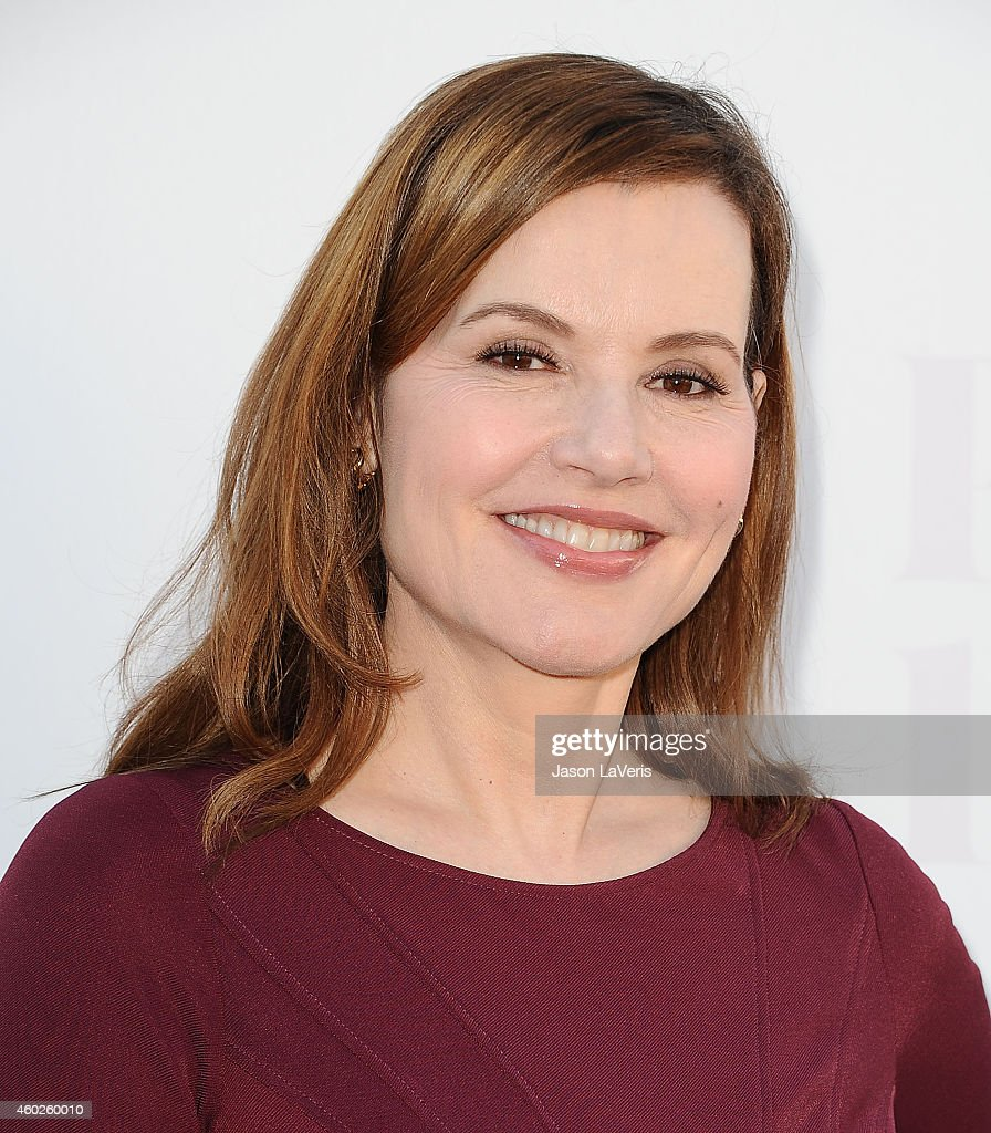 Actress Geena Davis attends the Hollywood Reporter's Women In Entertainment breakfast at Milk Studios on December 10 2014 in Los Angeles California