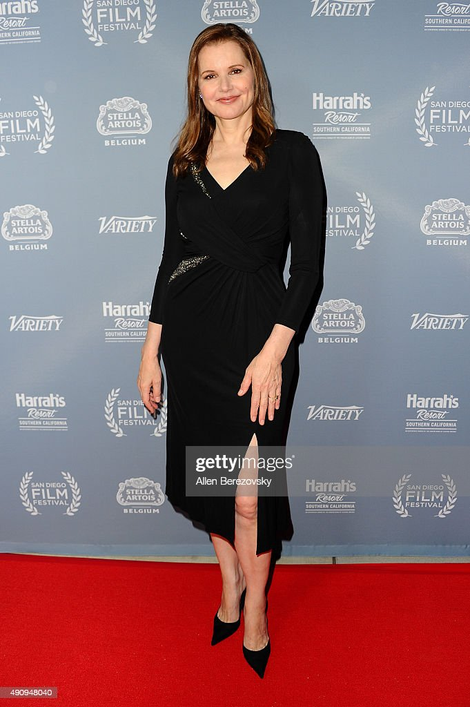 Actress Geena Davis attends Variety's Night with the Stars during the San Diego Film Festival at Museum of Contemporary Art on October 1 2015 in La...